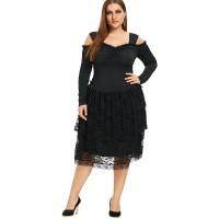 bbb6a829c2 Jual Plus Size Dress - Harga Terbaru 2019 | Tokopedia