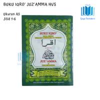 Buku Iqro Plus Juz'amma Dan Terjemahannya (HVS)