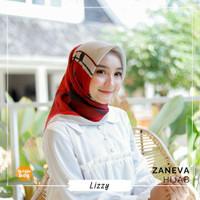 Jilbab Segi Empat Formal GROSIR Lizzy