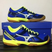 [Original] Sepatu Volley MIZUNO CYCLONE SPEED Navy Yellow V1GA178023