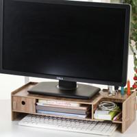 5088C New Desktop storage Meja laptop ada laci nya