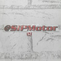 Emblem Red Logo H Honda Merah Mobilio Brio Jazz Brv City Civic Mini