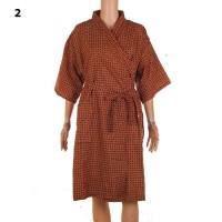 Kimono Batik Pria   Piyama   Baju Tidur   Baju Spa - Gunawan - No 2