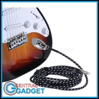 Kabel Gitar Bass Elektrik Braided 6 Meter