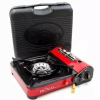 Kompor Portable Progas / 2in1 travel cooker mini gas demo masak suki