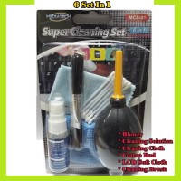Mediatech Super Cleaning Set 6 IN 1 / LCD Cleanser ( 69904 )