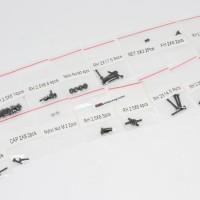F18-105 FUSION 1/18 BAUT / SCREW SET BAJA