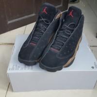 a7f4be84d8f051 Nike Air Jordan retro 13 (black olive green) size 12   46