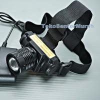 SENTER KEPALA ZOOM LED | HIGH POWER HEADLAMP | LAMPU HIKING TERANG