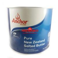 Anchor Pure New Zealand Salted Butter 2 KG / Golden Fern Halal Enak