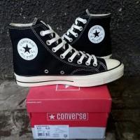 Sepatu Converse All Star 70s HI Black White Premium Original BNIB