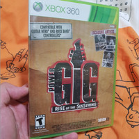 Power Gig: Rise of the SixString (Xbox 360, 2010, NTSC)