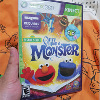 Sesame Street: Once Upon A Monster (No Region Protect)