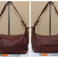 tas wanita branded Qiao Pi Xiang leather shoulder bag second original b0152db3c3