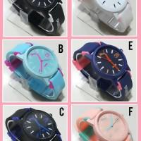 Jam tangan anak perempuan dan remaja RUBBER WATCH PVMA