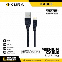 KURA Premium Cable - Kabel Data Lightning