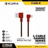KURA L Cable ( Gaming Series ) - Kabel Data Lightning