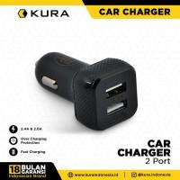 KURA Car Charger 2 Port