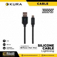 KURA Silicone Cable - Kabel Data Lightning