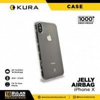 KURA Case Jelly Airbag - iPhone X