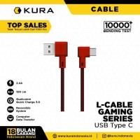 KURA L Cable ( Gaming Series ) - Kabel Data USB Type C