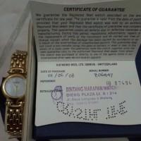 Jam Tangan Raymond Weil jam tangan wanita emas asli