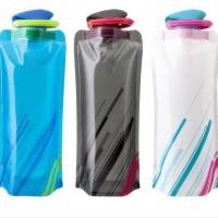 Botol Air Minum Botol Lipat Olahraga Portabel Folding Air Bag - KHB047