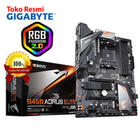 Gigabyte Motherboard ATX Socket AM4 4 x DDR4 DIMM B450 AORUS ELITE