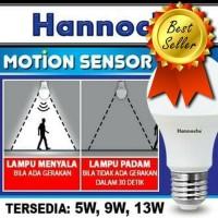 LAMPU LED SENSOR GERAK | LAMPU SENSOR GERAK ELEKTRONIK | LAMPU SENSOR