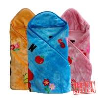 Baby Blanket Selimut Tebal Topi Bayi Dengan Tutup Kepala C.bryan