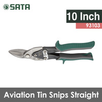 Harga gunting besi 10 inch lurus aviation tin snips 93103 sata | Pembandingharga.com