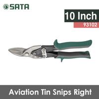 Harga gunting besi 10 inch kanan aviation tin snips 93102 sata | Pembandingharga.com