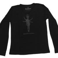 Tshirt / kaos merchandise queenfireworks black on black male