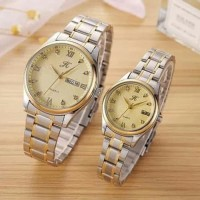 jam tangan wanita import lapis emas asli - Emas