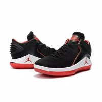 850df4533a7b Nike Low Air Jordan 32 XXXII Bred Black Perfect Kick Original PK