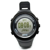 Spovan GL006G Jam Tangan Olahraga Lari Smartwatch GPS Heartrate - Blac