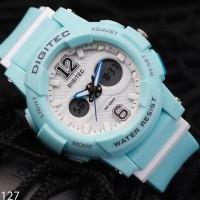 Jam Tangan wanita Digitec DG-2099 Blue Original