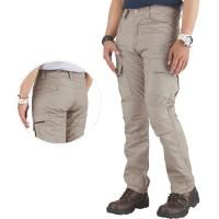 celana panjang pria katun cream casual pdl cargo gunung cowok CR1
