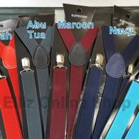 Suspender/Bretel/Tali jojon 2,5 cm - Seri 2 - Untuk Anak dan Dewasa