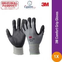 3M Comfort Grip Gloves - Sarung Tangan Safety Bahan Kain Katun Cotton