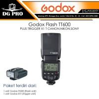 Godox Flash TT600 + X1T / TT 600 PLUS TRIGGER X1 T CANON,NIKON,SONY