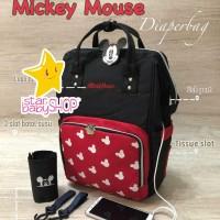 Tas Bayi Anello Diaper Bag Mickey Mouse Diaperbag GEN.3