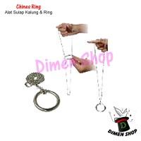 Chines Ring | Alat Sulap | Kalung Sulap | Close Up Magic | Dimen Magic
