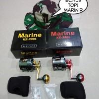Reel OH kenzi Marine kz-200L bonus topi