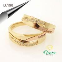 Cincin Kawin Tunangan Perak D.190 (SINGLE)