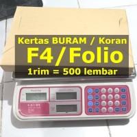 Harga Kertas F4 1 Rim Travelbon.com