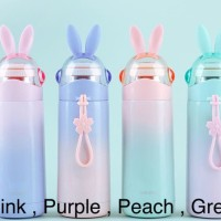 Botol Minum Thermos Bunny Ear Hello Dream