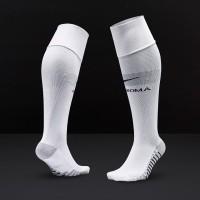 c53b20cfbc1cae Nike AS Roma 2018 19 Away Stadium Socks - White Wolf Grey Black