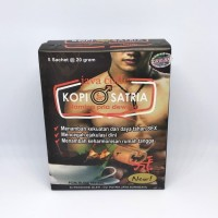 Kopi Racik Satria   Jamin Khasiat Joos - New Pack