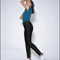CLARA Okechuku Celana Panjang Legging Wanita Training Olahraga Slimfit